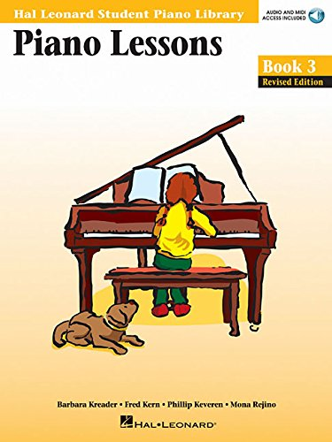 9780634031205: Piano Lessons Book 3 - Book/Online Audio & MIDI Access Included: Hal Leonard Student Piano Library (Hal Leonard Student Piano Library (Songbooks))