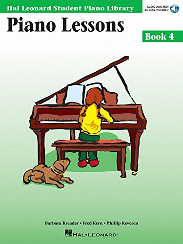 9780634031212: Piano Lessons Book 4 - Book/CD Pack
