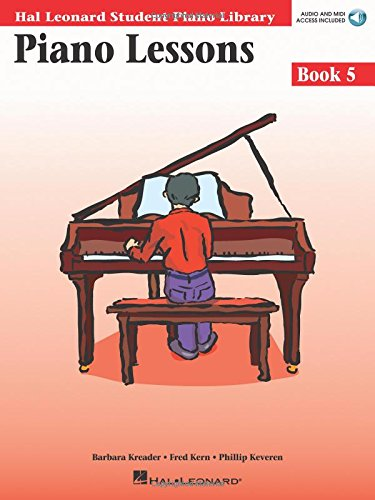 9780634031229: Piano Lessons Book 5 - Book/CD Pack: Hal Leonard Student Piano Library (Hal Leonard Student Piano Library (Songbooks))