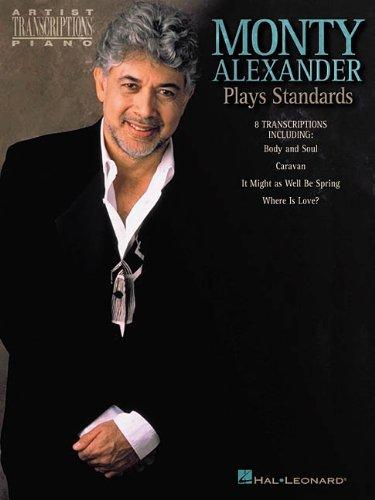 9780634031281: Monty Alexander Plays Standards