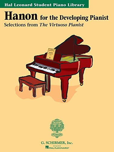 9780634031595: Hanon for the Developing Pianist
