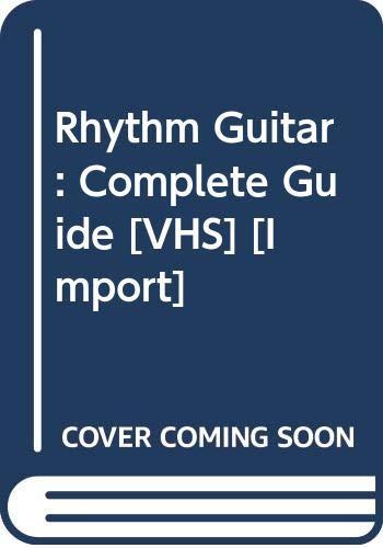 9780634032035: Rhythm Guitar: VHS Video