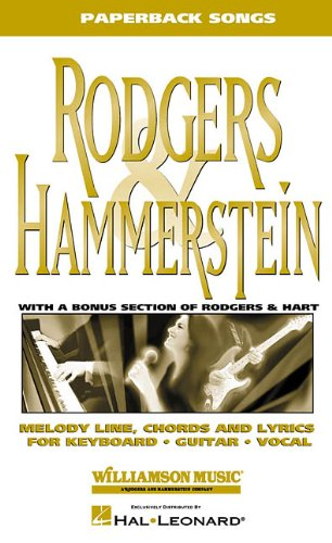 9780634032493: Rodgers & Hammerstein: Including a Bonus Section with 25 Rodgers & Hart Songs! (Paperback Songs)