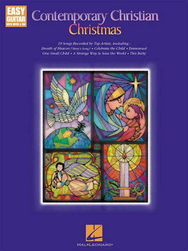 Contemporary Christian Christmas Easy Guitar with Notes & Tab: Hal Leonard