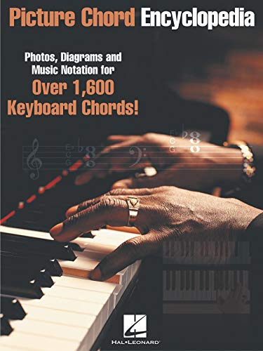 9780634032905: Picture Chord Encyclopedia: Photos, Diagrams, and Music Notation for Over 1600 Keyboard Chords