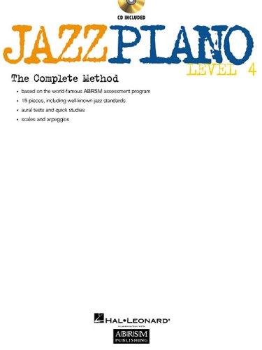 JAZZ PIANO LEVEL 4 BK/CD ABRSM