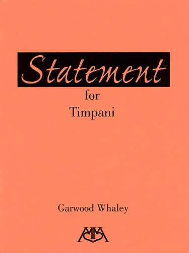9780634033148: Statement for Timpani