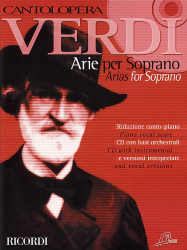 9780634033223: Verdi Arias for Soprano: 1