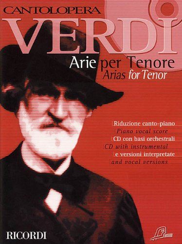 9780634033230: Verdi Arias for Tenor: Cantolopera Collection