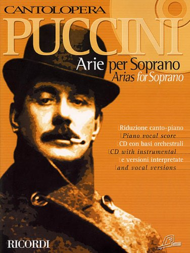 9780634033247: Puccini Arias for Soprano: 1 (Cantolopera Collection)