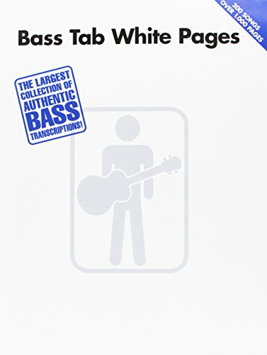 9780634033261: Bass Tab White Pages