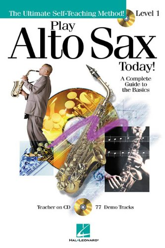 9780634033315: Play alto sax today! - level 1 saxophone+CD (Play Today!)