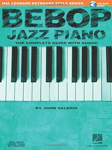 9780634033537: Bebop Jazz Piano: The Complete Guide