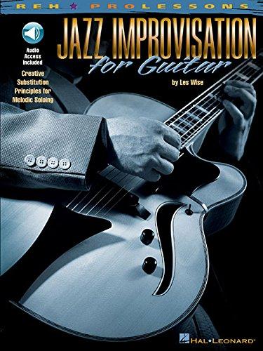 9780634033568: Jazz Improvisation For Guitar (Book & CD)