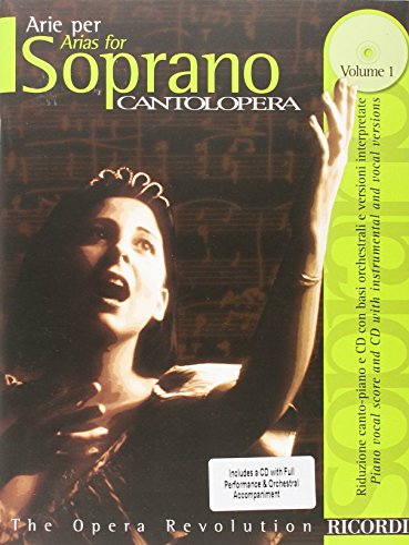 9780634033650: Cantolopera: Arias for Soprano - Volume 1: Cantolopera Collection
