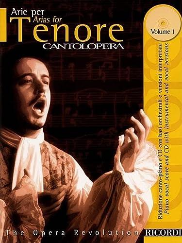 9780634033674: Arias for Tenor, Vol. 1