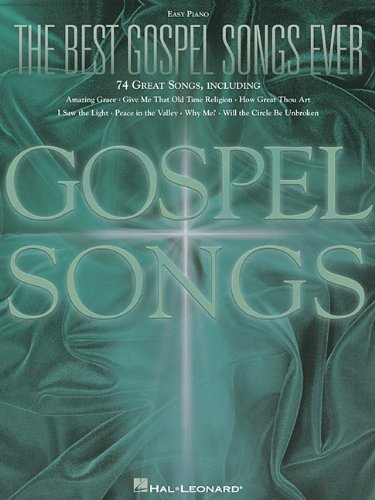 9780634033988: The Best Gospel Songs Ever (Easy Piano Songbook)