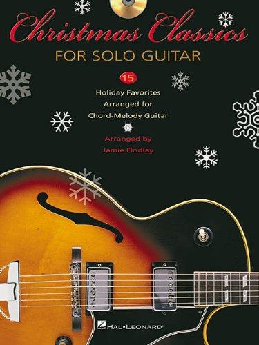 9780634034206: Christmas Classics Solo Gtr Bkcd
