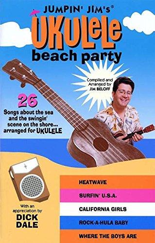 9780634034251: Jumpin' Jim's Ukulele Beach Party (Fretted)