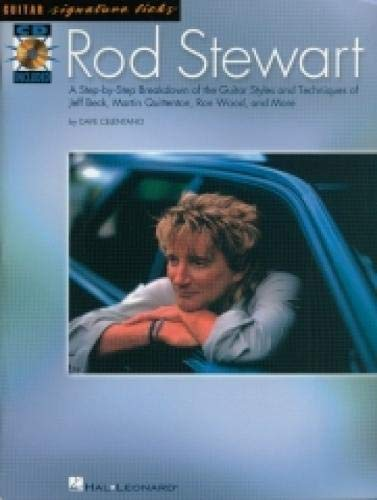9780634034381: Rod Stewart: A Step-by-Step Breakdown of the Guitar Styles and Techniques of Jeff Beck, Martin Quittenton, Ron Wo (Guitar Signature Licks)