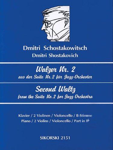 9780634034527: Schostakowitsch: Walzer Nr. 2/Second Waltz: Aus Der Suite Nr. 2 Fur Jazz-Orchester Fur 2-5 Instrumente/Second Waltz from the Suite No. 2 for Jazz Orch