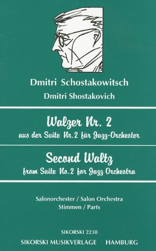 9780634034534: Second Waltz from Suite No. 2 for Jazz Orchestra