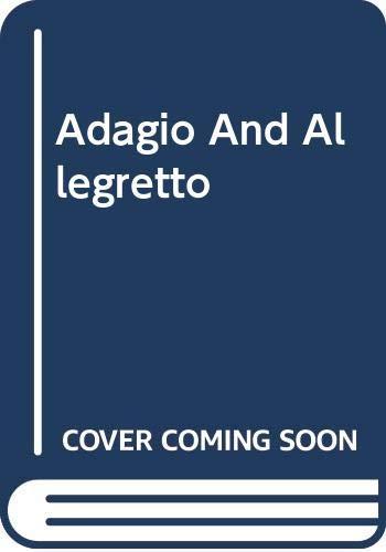 9780634034541: Adagio and Allegretto: Study Score