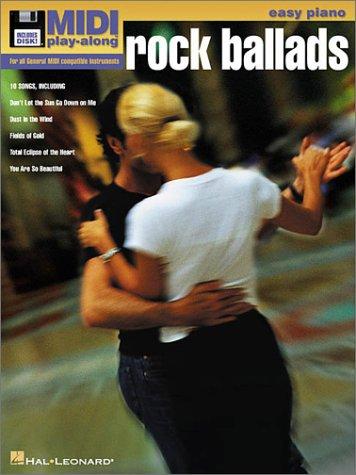 9780634035425: Vol. 3 Rock Ballads: Easy Piano MIDI Play Along Book/Disk Pack (MIDI Play-Along (Unnumbered))