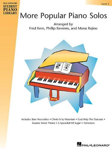 9780634035692: More Popular Piano Solos - Level 3: Hal Leonard Student Piano Library (Hal Leonard Student Piano Library (Songbooks))