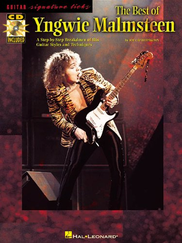 9780634036835: YNGWIE MALMSTEEN BK/CD THE BEST OF GUITAR SIGNATURE LICKS