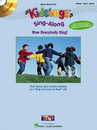 Kids Sing-Along Now Everybody Sing! BK/CD (Kidsongs)