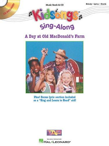 9780634036958: Kid Songs a Sing-Along at Old Mc Donald's Farm BK/CD