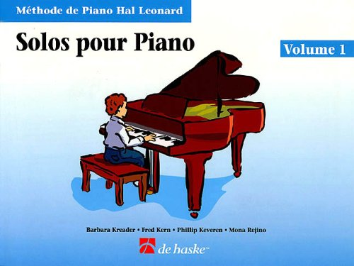 9780634037573: Piano Solos Book 1 - French Edition: Hal Leonard Student Piano Library