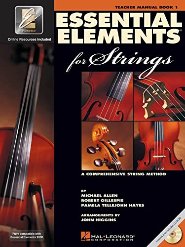 9780634038167: Essential Elements for Strings - Book 1 with EEi: Teacher Manual