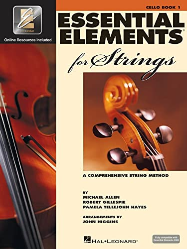 9780634038198: Essential elements for strings - book 1 with eei violoncelle+enregistrements online