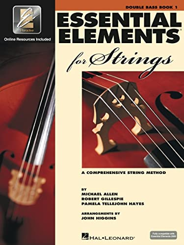9780634038204: Essential Elements for Strings - Book 1 with Eei: Double Bass