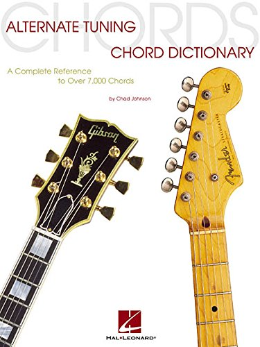 9780634038570: Alternate tuning chord dictionary guitare