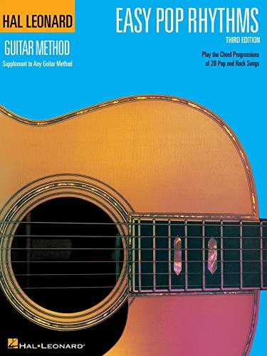 9780634038600: Easy Pop Rhythms: Correlates with Book 1 (Hal Leonard Guitar Method (Songbooks))