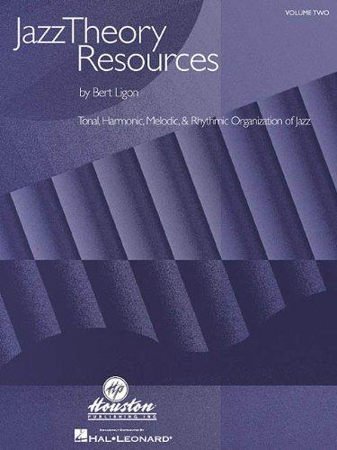 9780634038624: Jazz Theory Resources: Volume Two, Tonal, Harmonic, Melodic & Rhythmic Organization of Jazz: 2