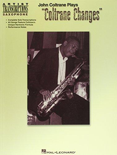 9780634038648: John Coltrane Plays 'coltrane Changes'
