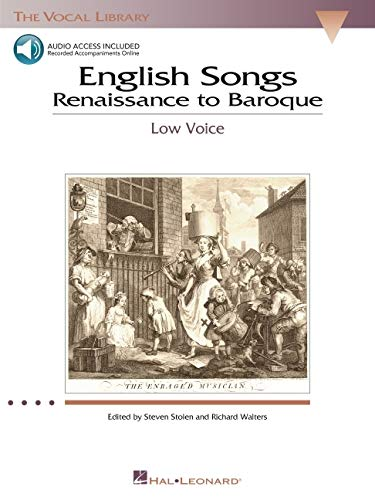 9780634038662: English Songs: Renaissance to Baroque: The Vocal Library