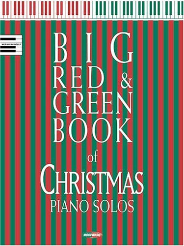 9780634038792: Big Red and Green Book of Christmas Piano Solos
