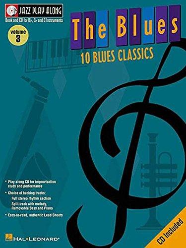 9780634039171: The Blues: Jazz Play-Along Volume 3