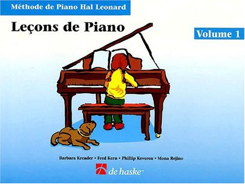 9780634039461: Piano Lessons Book 1 - French Edition: Hal Leonard Student Piano Library