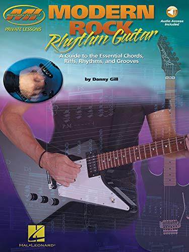 9780634039829: Musicians Institute Modern Rock Rhythm Guitar Gtr Book/Cd (Musicians Institute Private Lessons)