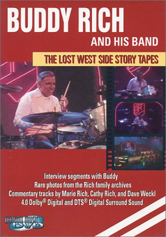 9780634040177: Buddy Rich and His Band: The Lost West Side Story Tapes