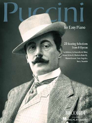 9780634040313: Puccini for Easy Piano: 25 Soaring Selections from 8 Operas