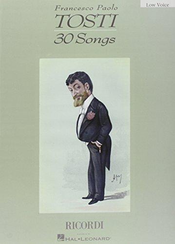 9780634040375: Francesco Paolo Tosti: 30 Songs
