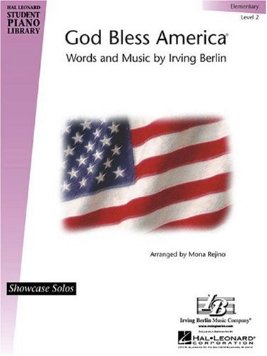 9780634040443: God Bless America : Hal Leonard Student Piano Library Showcase Solos