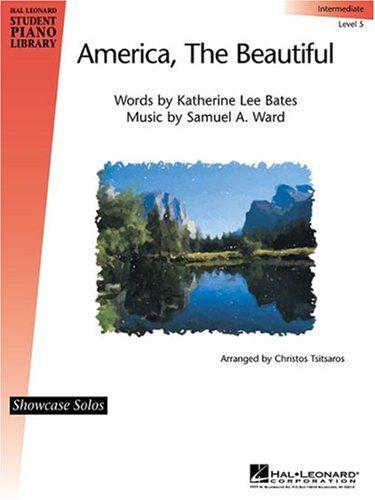 9780634040542: America, the Beautiful Level 5: Intermediate (Hal Leonard Student Piano Library (Songbooks))